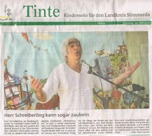 LesetheaterWolkenzauber;KritikSömmerdavom24.3.2015